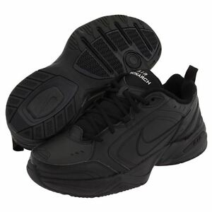 Nike AIR MONARCH IV Mens Black 001 Comfort Lace Up Running Training ... 041b0a897