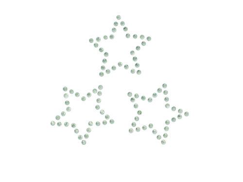 Bügelbild Echse Schmetterling Herzen Sterne Strass Applikationen Patches