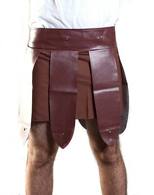 Roman Gladiator Adult Skirt Trojan Warrior Men Russell Crowe Maximus Costume