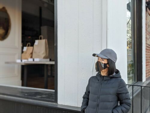 Attach to any Ball Cap Face shield Snap Shield DIY protective Shield Kit