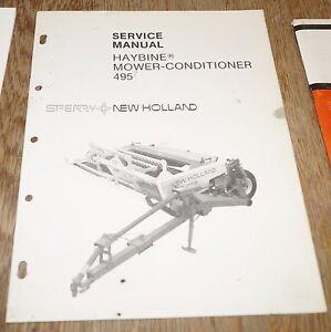 sperry new holland speedrower 910 1100 haybine 1495 90 gearboxes rh ebay com