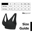 3-6-9-12-Pack-Comfort-Women-Wireless-Seamless-Bra-Sports-Black-Nude-White thumbnail 2