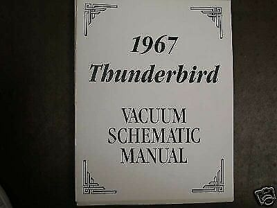 1967 thunderbird turn signal diagram wiring schematic 1967 ford thunderbird tbird vacuum manual ebay  1967 ford thunderbird tbird vacuum