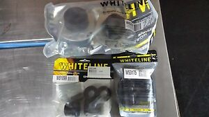 WHITELINE-COMMODORE-VT-VX-VY-amp-VZ-FRONT-CASTOR-ROD-CONTROL-ARM-BUSH-KIT-WCOM5C