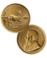 South Africa 1 Oz Gold Krugerrand Coin
