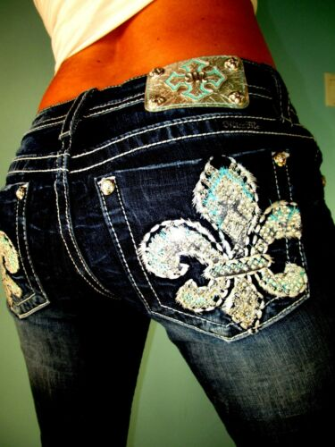 elasticizzata 26 Signature da 27 X 5 Jeans Miss Fleur impreziosita Me Fit Gamba 30 WvnUBwx