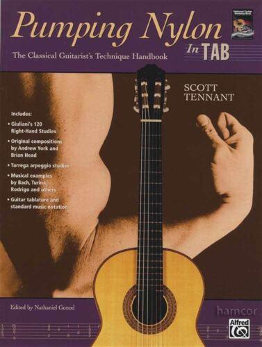 Pumping Nylon in TAB Scott Tenant Classical Guitar Technique Handbook