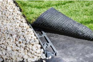 Garden Flexible Edging Lawn Edge Grass Border Palisade 5m 15 Pegs// 45mm Height