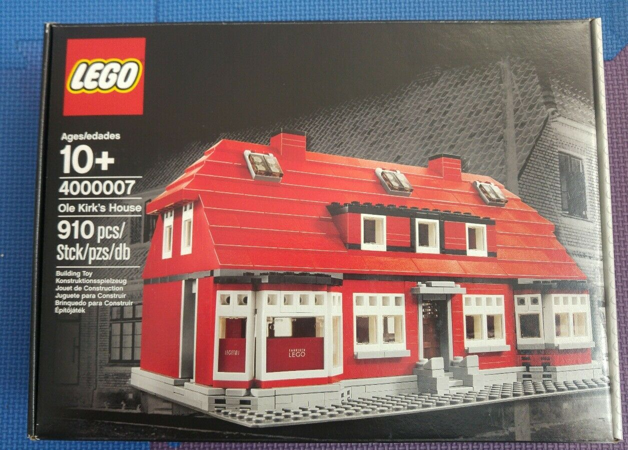 LEGO ® Exclusive 4000007 Ole Kirk's House NEW