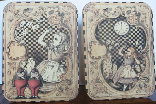 Alice in Wonderland characters 6 large tent cards table decoration party favor