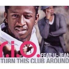 """R.I.O. FEAT. U-JEAN""""TURN THIS CLUB AROUND""""CD SINGLE NEU"""