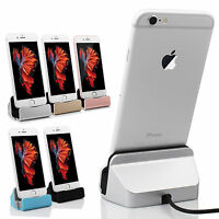 Charger Dock Stand Station Cradle Charging Sync Dock For iPhone SE 5S 6 6s plus