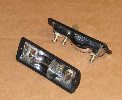 2x Lampen-fassung Lampenträger Reflektor für Eicher Blinker Positionsleuchten