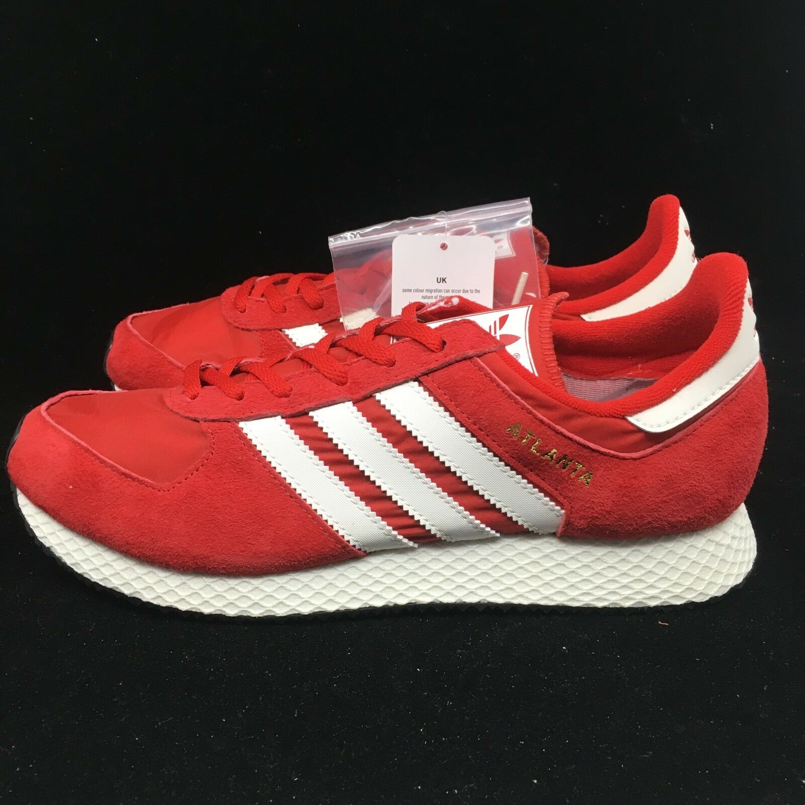 Adidas Atlanta SPZL Scarlet Chalk White gold Metallic Red Black BY1880 Spezial
