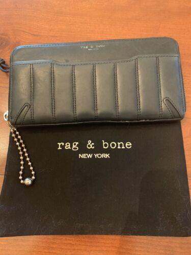 Rag And Bone Black Wallet
