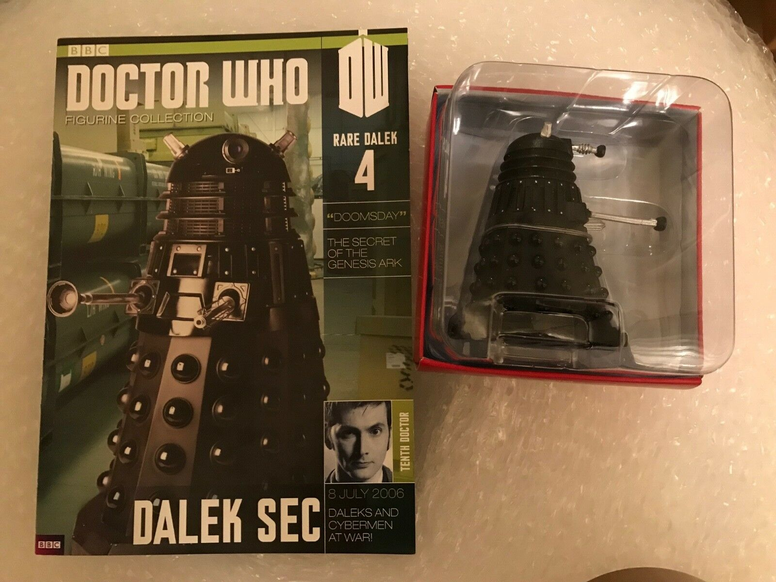 Doctor Who Eaglemoss - Figurine- Special Edition - SD4 - Dalek Sec - rare dalek