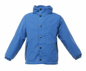 REGATTA-KIDS-TERM-TIME-WATERPROOF-REVERSIBLE-ROYAL-BLUE-JACKET-TRA900