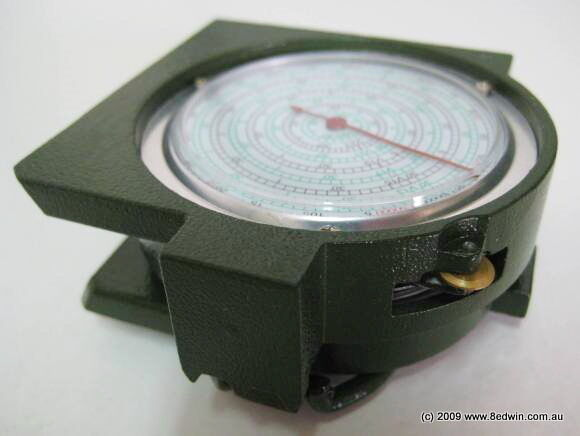 Map Measuring Metal Compass  military old modellolo