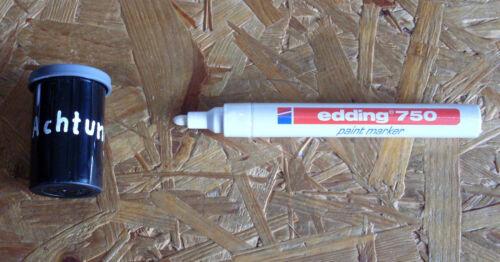 Geocaching herramienta Pintura edding pintor blanco 750 o 780 nuevo