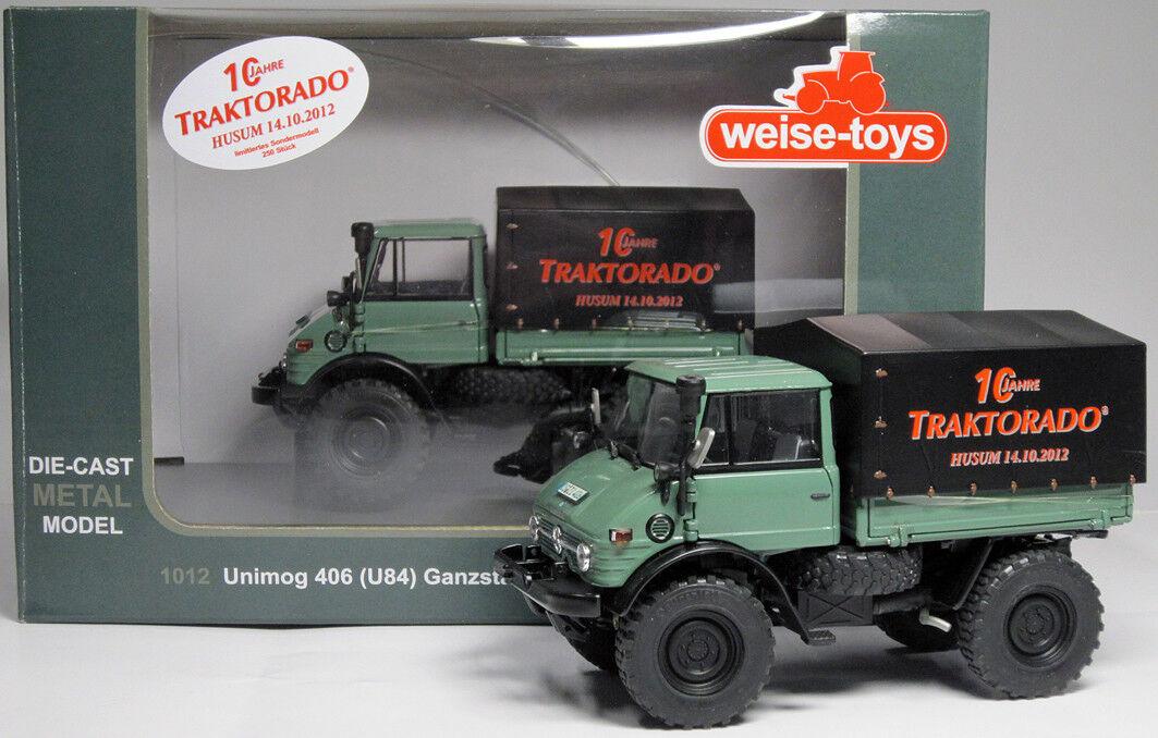 Weise-Toys 2006-1012 Unimog 406  10 anni traktorado  Nuovo Scatola Originale