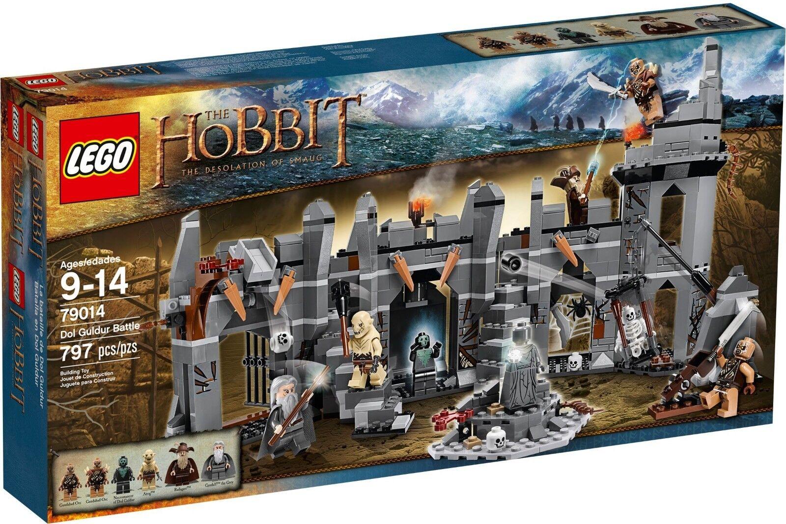 LEGO 79014 DOL GULDUR BATTLE THE HOBBIT LOTR RARE  RETIrot  BRAND NEW FAST SHIP