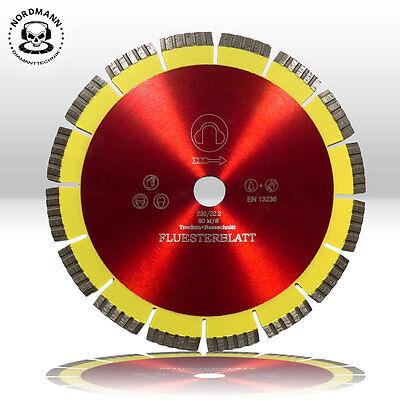 1 Stück Diamant-Trennscheibe Diamantscheibe Ø 230 mm NORDMANN Flüsterblatt 50%