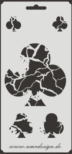 Scrapbooking galería de símbolos s-192 cruz vintage ~ stencil ~ Conv-Design