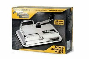 TOP-O-Matic-T2-Cigarette-Maker-Rolling-Making-Tobacco-Injector-Machine-King-100s