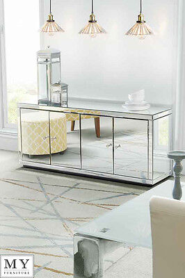 My-Furniture Chelsea fully mirrored sideboard cabinet (ID : 11747)
