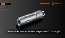 Jetbeam MINI-1 Micro USB Rechargeable Light Cree XP-G2 130 Lumens