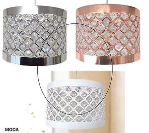 HonnêTeté Modern Sparkly Ceiling Pendant Light Shade Jewel Lamp Easy Fit Moda Fitting New éLéGant Dans Le Style