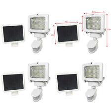 4 Pack 60 SMD LEDs Outdoor Solar Motion Sensor Security Flood Light Spot 80 100