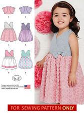 SEWING PATTERN! MAKE CHILD FANCY DRESS~BOLERO! 4 STYLES! 1/2 TO 4! FLOWER GIRL