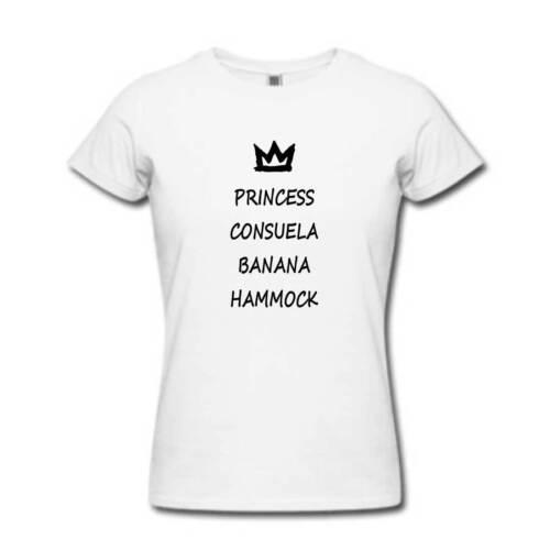Princess Consuela Banana Hammock Tshirt Top T Shirt Crap Bag