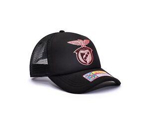 SL Benfica Trucker Snapback Baseball Hat Shield Officially Licensed Fan Ink