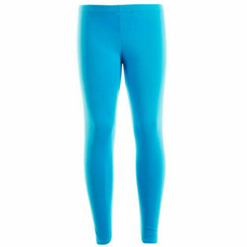 New Kids Girls Winter Thick Cotton Legging Warm Stretch Leggings 7-13 Years