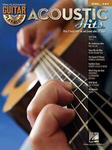 Guitar-Play-Along-Acoustic-Hits-Tesla-Learn-Oasis-Wonderwall-TAB-Music-Book-CD
