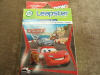 Leap Frog Leapster Disney Pixar Cars Mathematics Learning Path Game