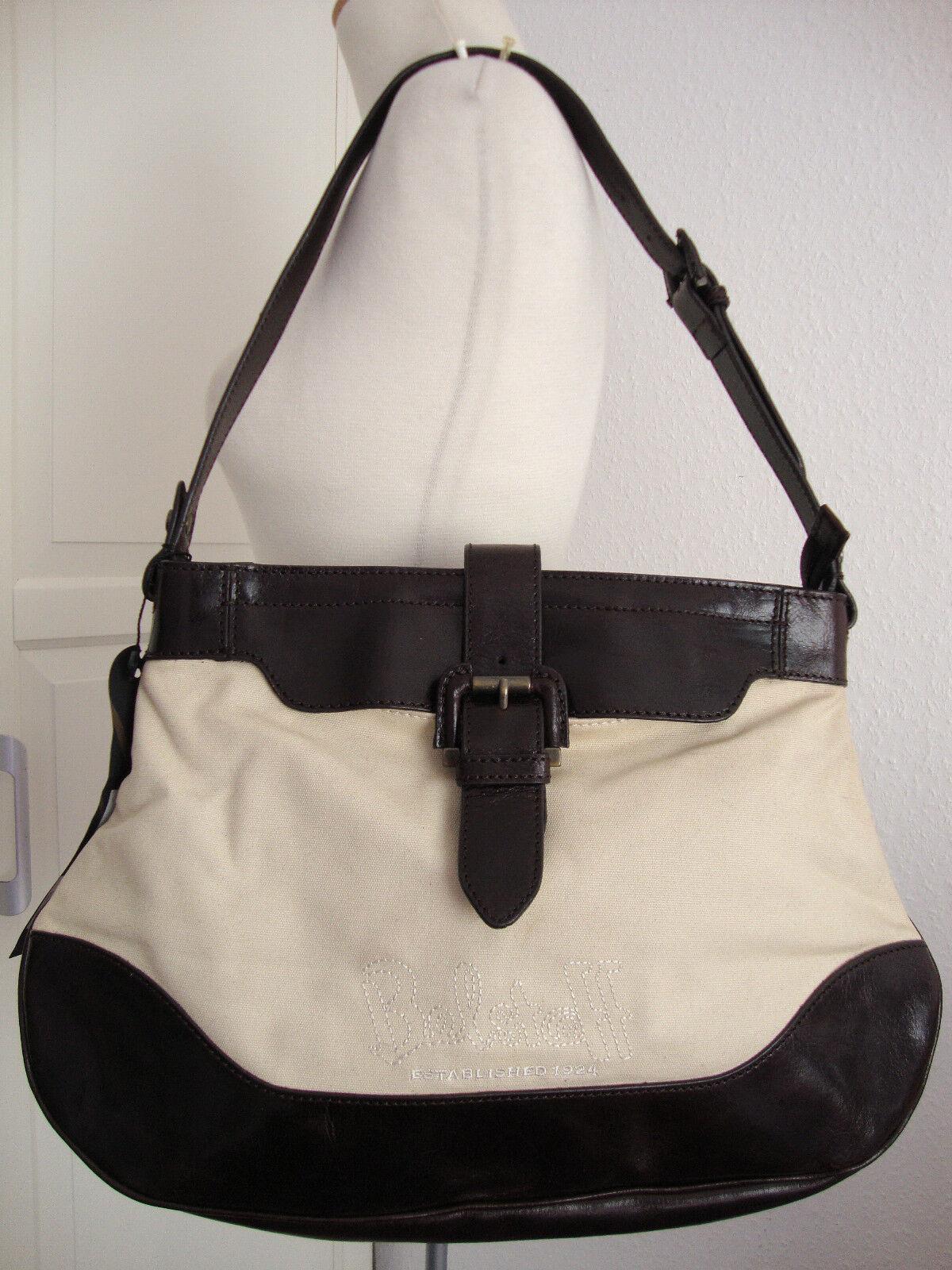 BELSTAFF BELSTAFF BELSTAFF ELLEN BAG Damen Shopper Tasche Schultertasche Leder Canvas NEU ETIKETT | Feinbearbeitung  | Luxus  | Clearance Sale  dc3040