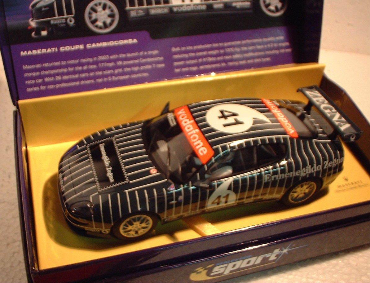 QQ C2505A Scalextric Sport UK Maserati Coupé Cambiocorsa Nicht 41 Le -
