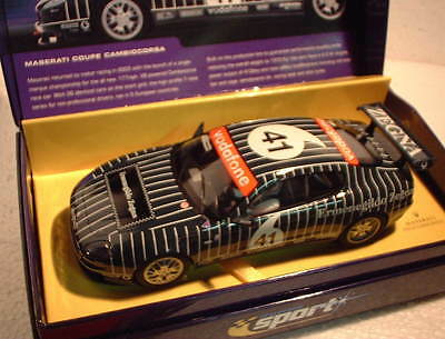 Qq C2505a Scalextric Sport Uk Maserati Coupé Cambiocorsa Nicht 41 Le Bestellung Good For Antipyretic And Throat Soother Elektrisches Spielzeug Kinderrennbahnen