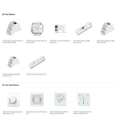 cheap for discount c0344 3f620 LED Controller Triac Series AC Triac control system triac Dimmer S1-B S1  S1-K KS   eBay