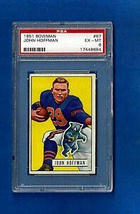 1951-BOWMAN-FOOTBALL-87-JOHN-HOFFMAN-PSA-6-EX-MT-CHICAGO-BEARS