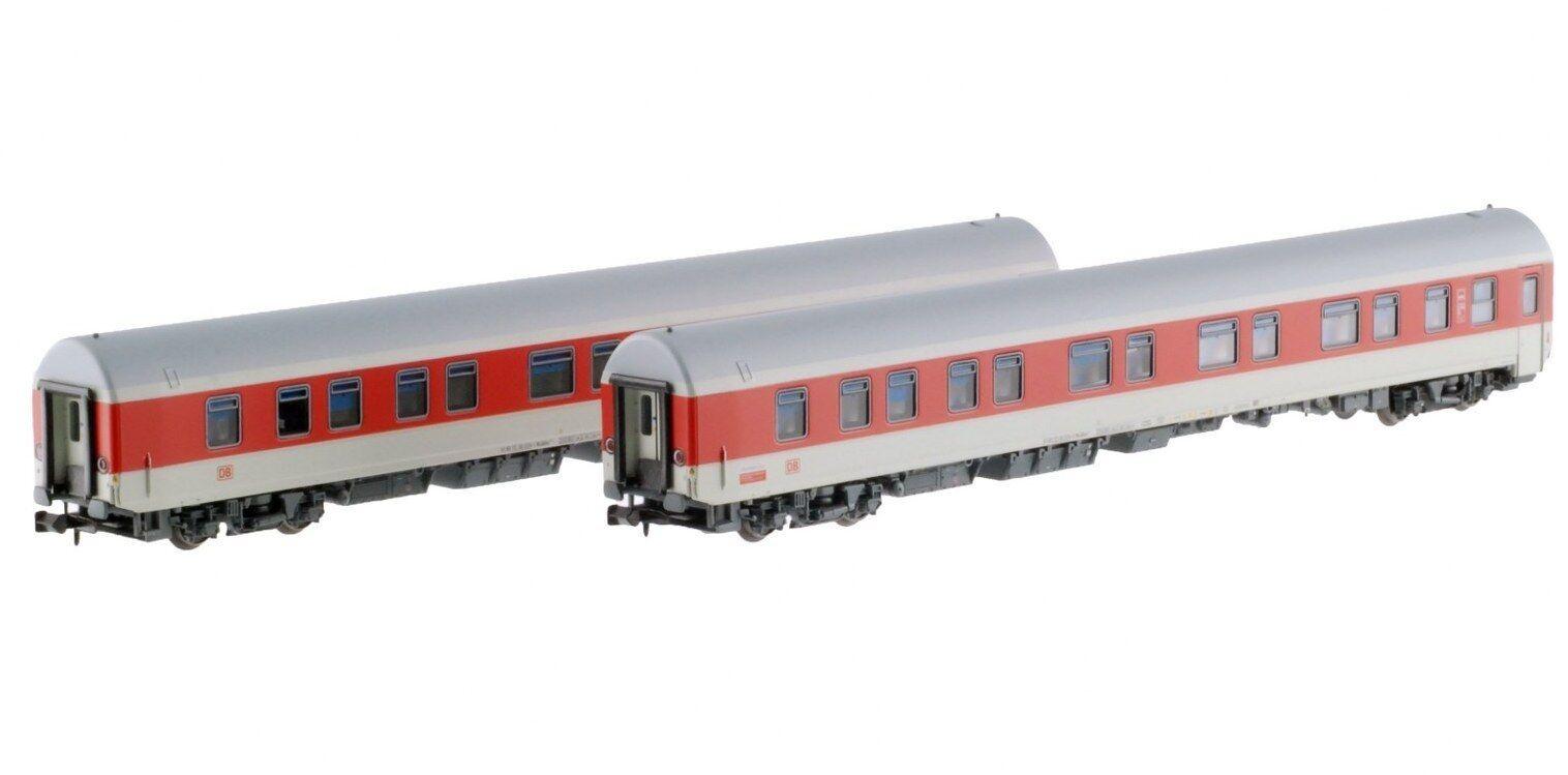 LS Models 76032 DBAG NachtZug Set 2x1. 2.Kl SchlafWg hellgrau rot Ep5b-6 Neu+OVP