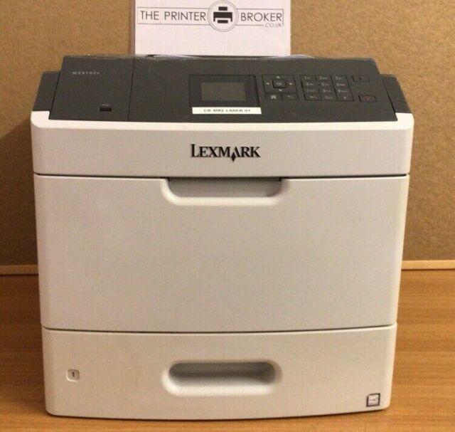 40G0135/ 4063-230 - Lexmark MS810dn A4 Mono Laser Printer
