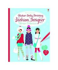 Sticker Dolly Dressing Fashion Designer Winter Collection By Fiona Watt Paperback 2014 For Sale Online Ebay