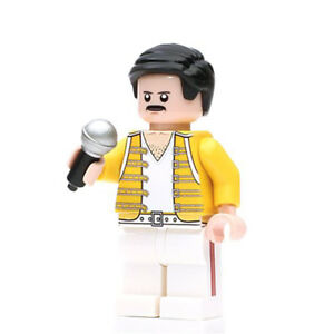 Freddie-Mercury-Singer-Lego-Dyi-Minifigure-Gift-For-Kids-Brand-New-amp-Sealed