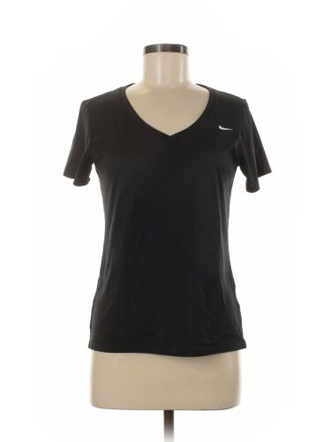 Nike Women Black Active T-Shirt M
