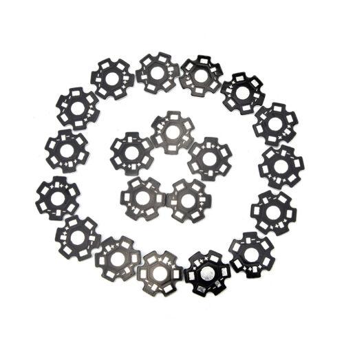 20pcs//100pcs//lot LED heat sink LED aluminium base plate LED beads radiator  ETHH