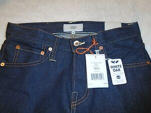 Jack-Spade-BT-02-Selvage-Slim-Fit-Jeans-White-Oak-Cotton-NWT-248-Made-in-USA-28